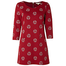 Buy White Stuff Decorative Jersey Tunic, Mongolian Red Online at johnlewis.com