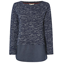 Buy White Stuff Cloudy Skies T-Shirt, Deep Dusky Blue Online at johnlewis.com