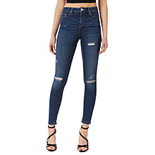 Buy Miss Selfridge Lizzie Jeans, Mid Wash Denim Online at johnlewis.com
