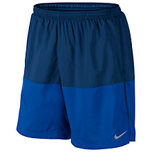 "Buy Nike Distance 7"" Running Shorts, Blue Online at johnlewis.com"