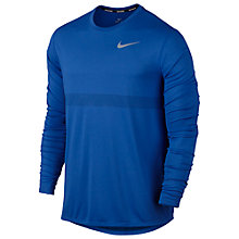 Buy Nike Zonal Cooling Relay Long Sleeve Running Top Online at johnlewis.com