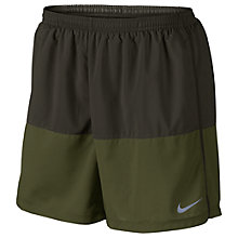 "Buy Nike Flex 5"" Running Shorts, Sequoia/Legion Green Online at johnlewis.com"