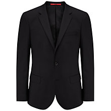 Buy HUGO by Hugo Boss Hayes Slim Fit Suit Jacket, Black Online at johnlewis.com