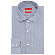 Buy HUGO by Hugo Boss C-Gordon Easy-Iron Cotton Striped Shirt Online at johnlewis.com