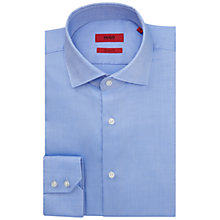 Buy HUGO by Hugo Boss C-Gordon Textured Cotton Shirt Online at johnlewis.com