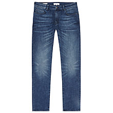 Buy Reiss Division Slim Jeans, Mid Blue Online at johnlewis.com