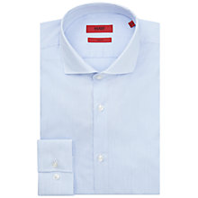Buy HUGO by Hugo Boss C-Jason Pinstripe Slim Fit Cotton Shirt Online at johnlewis.com