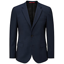 Buy HUGO by Hugo Boss Hayes Slim Fit Suit Jacket, Dark Blue Online at johnlewis.com