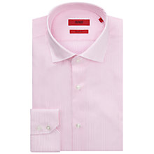 Buy HUGO by Hugo Boss C-Gordon Easy Iron Cotton Stripe Shirt Online at johnlewis.com