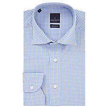 Buy Daniel Hechter Fine Check Tailored Shirt, Blue Online at johnlewis.com