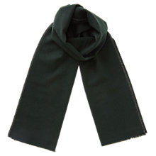 Buy Jigsaw Wool Border Scarf Online at johnlewis.com
