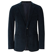 Buy Jigsaw Corduroy Slim Fit Blazer, Aegean Online at johnlewis.com