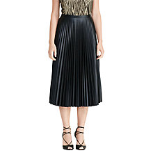 Buy Lauren Ralph Lauren Colyn Skirt, Black Online at johnlewis.com