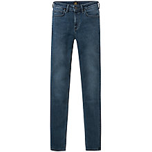 Buy Lee Scarlett High Waist Skinny Jeans, Raven Online at johnlewis.com