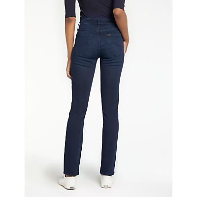 Lee Elly High Waist Slim Leg Jeans, Super Dark