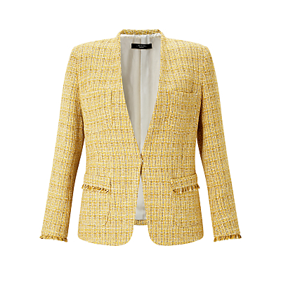Weekend MaxMara Anny Tweed Jacket, Yellow