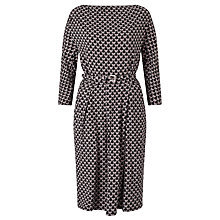 Buy Weekend MaxMara Nerone Butterfly Print Jersey Dress, Black Online at johnlewis.com