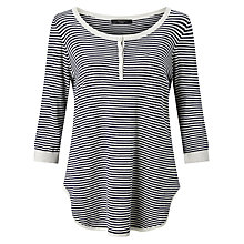 Buy Weekend MaxMara Galea Stripe Jumper, Ultramarine Online at johnlewis.com