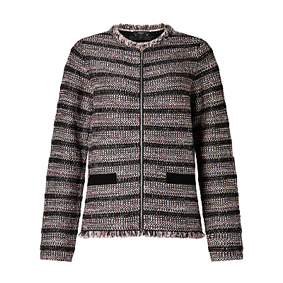 Weekend MaxMara Attore Boucle Jacket, Light Grey