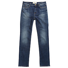 Buy Weekend MaxMara Velo Slim Leg Jeans, Ultramarine Online at johnlewis.com