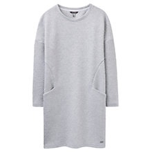 Buy Joules Abi Textured Jersey Tunic Dress, Grey Marl Online at johnlewis.com
