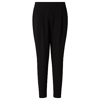 Gerry Weber Elasticated Back Waist Trousers, Black