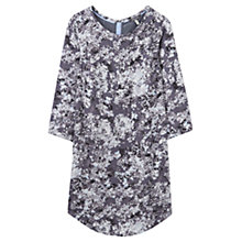 Buy Joules Martha Printed Tunic Dress, Grey Floral Online at johnlewis.com