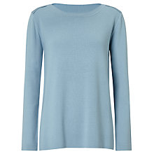 Buy Weekend MaxMara Cogne Jumper, Sky Blue Online at johnlewis.com