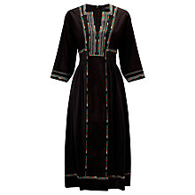 Buy Weekend MaxMara Arlem Knitted Dress, Dark Brown Online at johnlewis.com