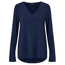 Buy Weekend MaxMara Fianco V-Neck Knit, Ultramarine Online at johnlewis.com