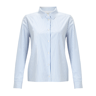 Weekend MaxMara Brunner Stripe Shirt, Sky Blue