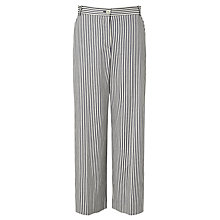 Buy Weekend MaxMara Osaka Stripe Trousers, Ultramarine Online at johnlewis.com