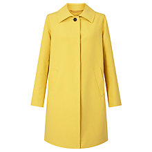 Buy Weekend MaxMara Ragazza Coat, Yellow Online at johnlewis.com