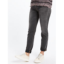 Buy Weekend MaxMara Salve Slim Jeans, Black Online at johnlewis.com
