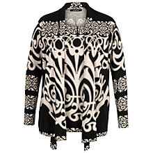 Buy Chesca Abstract Print Jumper, Black/Beige Online at johnlewis.com