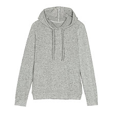Buy Fat Face Weston Soft Long Hoodie, Grey Online at johnlewis.com