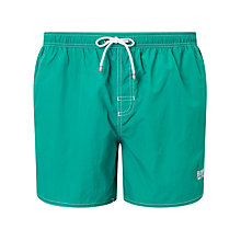 Buy BOSS Lobster Plain-Coloured Swim Shorts Online at johnlewis.com