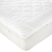 Buy John Lewis Light Cotton Comfort Mattress Topper Online at johnlewis.com