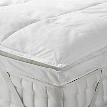 Buy John Lewis Dual Layer Duck Down Mattress Topper Online at johnlewis.com