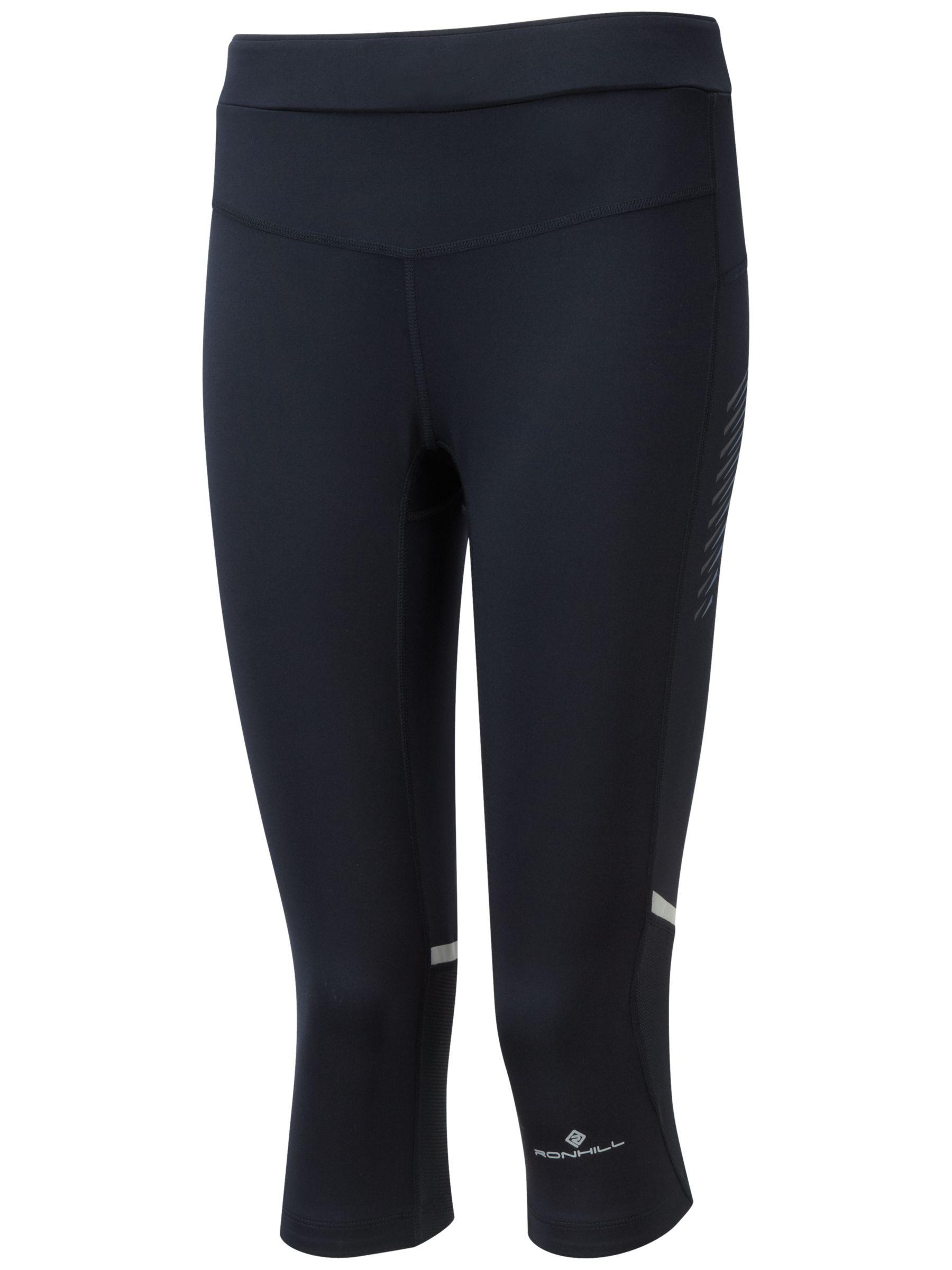 Ronhill Ronhill Powerlite Stretch Running Capris, Black