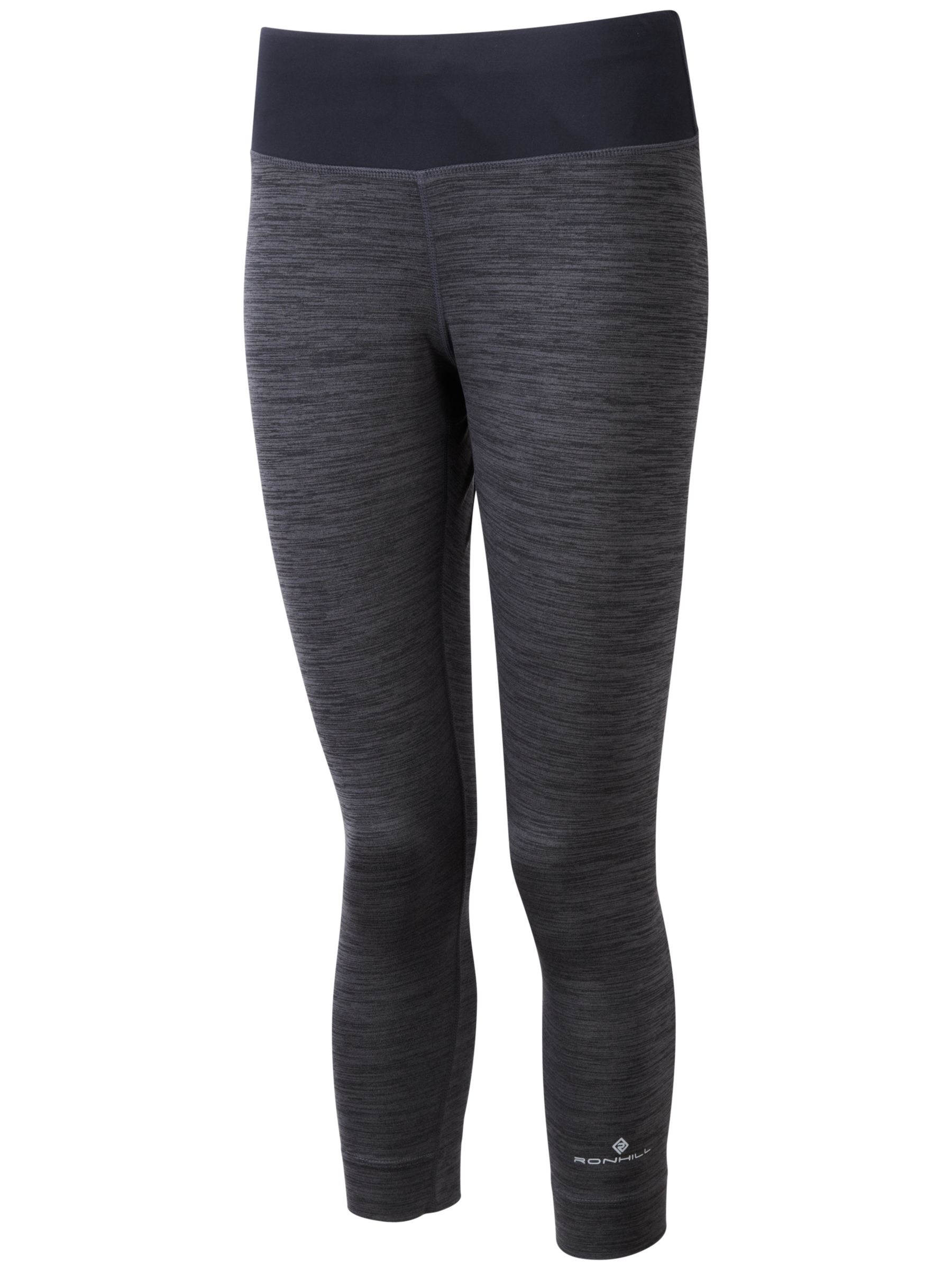 Ronhill Ronhill Momentum Victory Cropped Running Tights, Grey