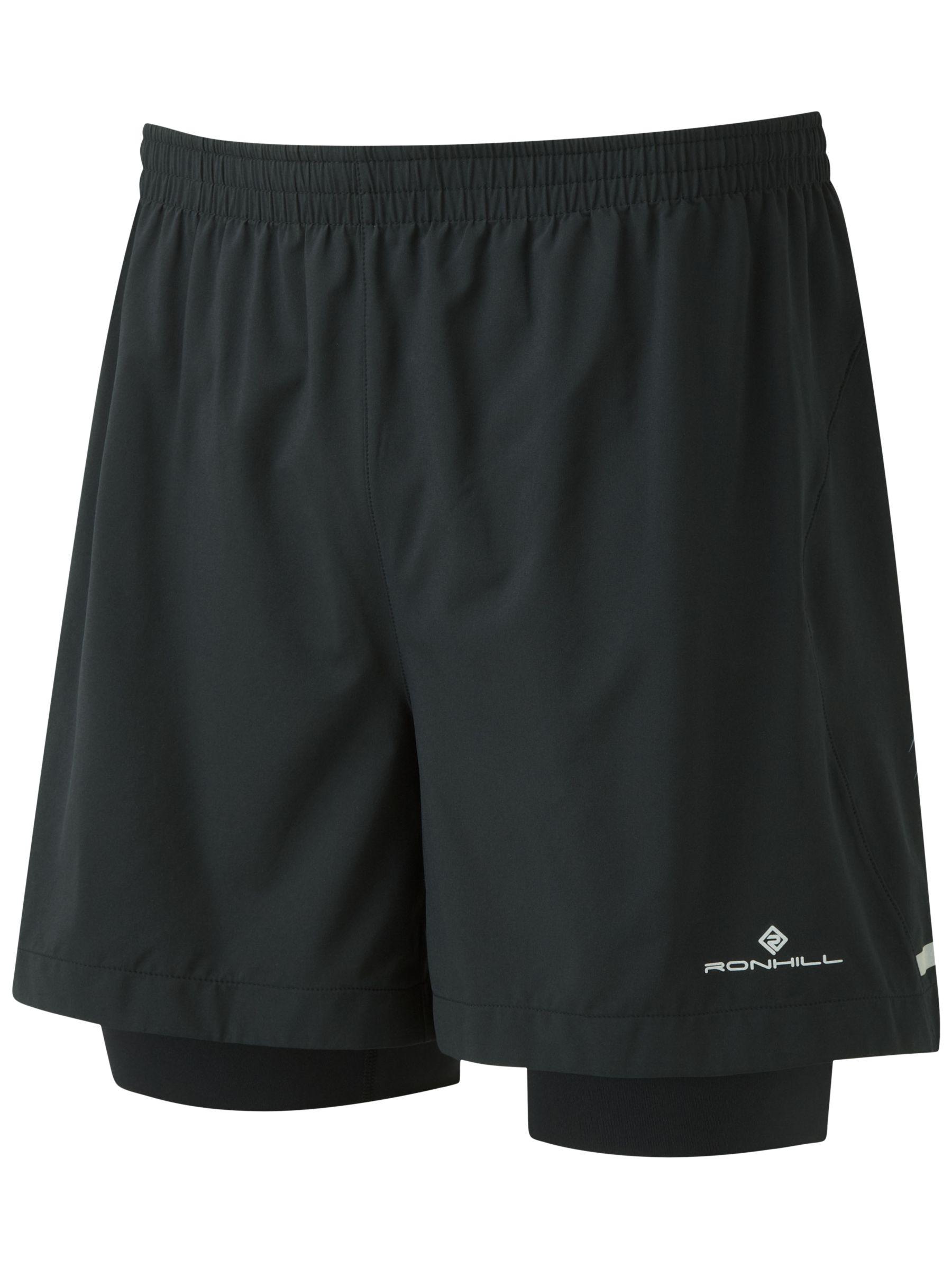Ronhill Ronhill Stride Twin 5 Running Shorts, Black