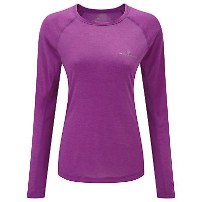 Ronhill Momentum Long Sleeve Running Top, Green
