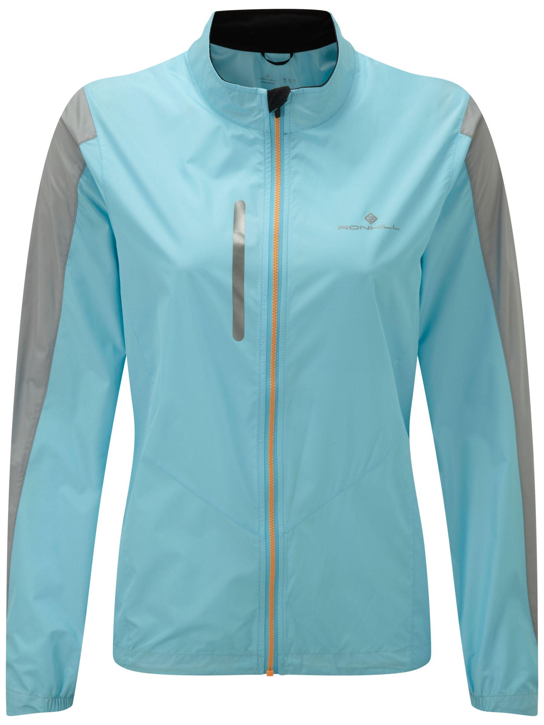 Ronhill Ronhill Stride Windspeed Women's Running Jacket, Blue/Grey