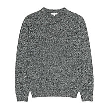 Buy Reiss Horton Twisted Yarn Lambswool Blend Jumper Online at johnlewis.com