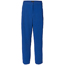 Buy Selected Femme Laya Cropped Trousers, Mazarine Blue Online at johnlewis.com