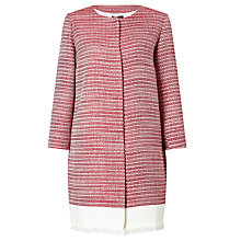 Buy Weekend MaxMara Ostenda Tweed Coat, Red Online at johnlewis.com