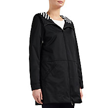 Buy BOSS Orange Orainy Rain Parka Jacket, Dark Blue Online at johnlewis.com