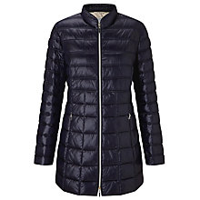 Buy Gerry Weber Quilted Padded Jacket, Navy Online at johnlewis.com