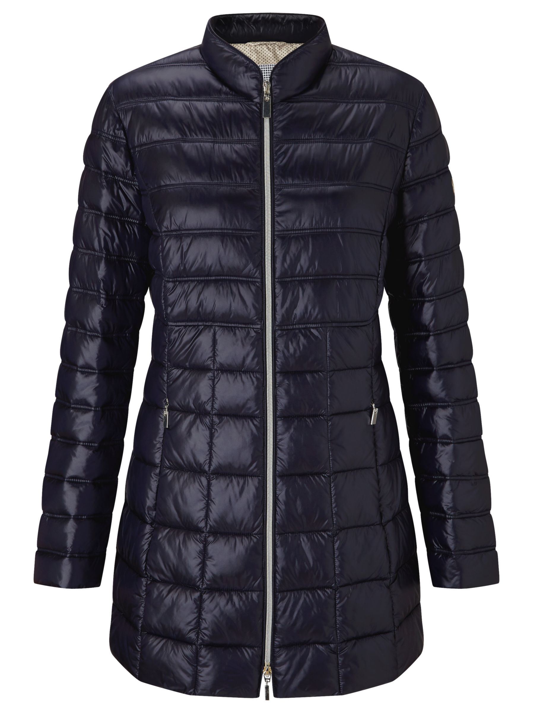 Gerry Weber Gerry Weber Quilted Padded Jacket, Navy